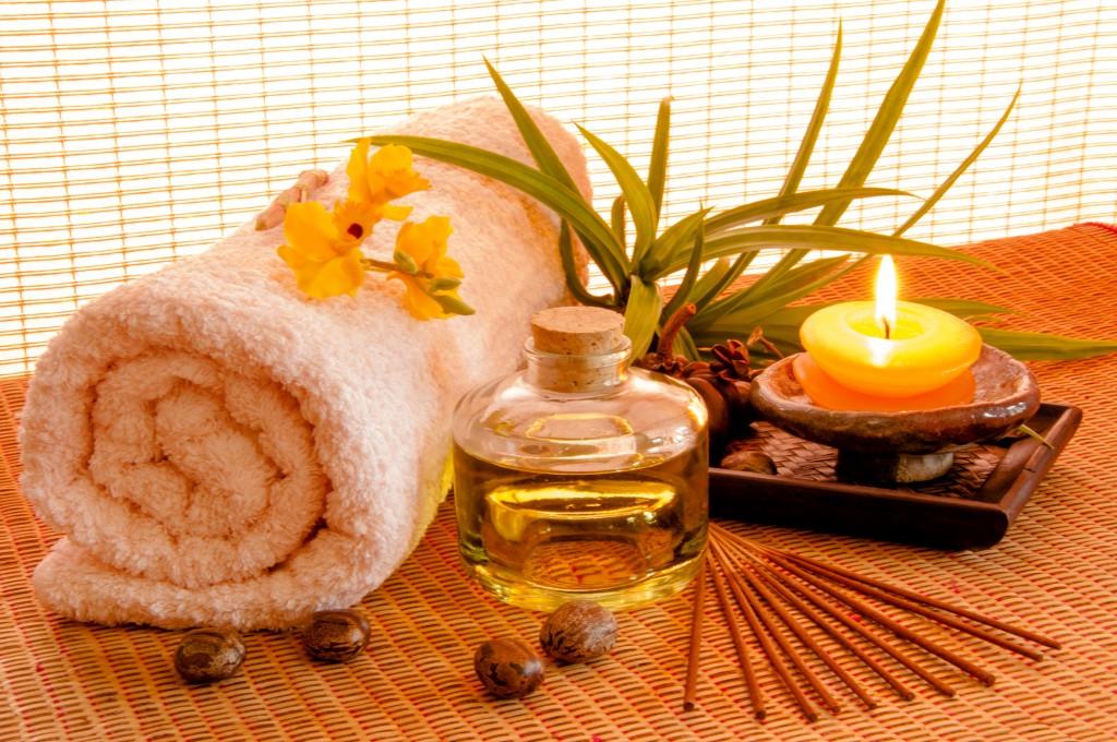 Aromaterapia y aceites esenciales.