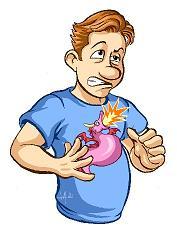 Acidez de estómago o reflujo.