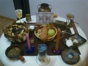 Altar Ritual Mabón