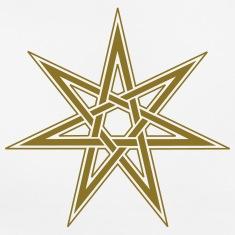 Estrella-de-hadas,-simbolo-elfico,-wicca,-pagano--Camisetas