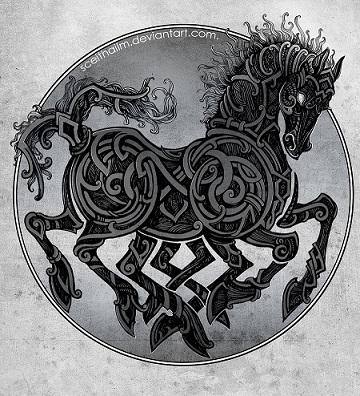 La leyenda de Sleipnir