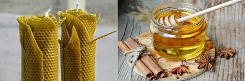 Las velas de miel