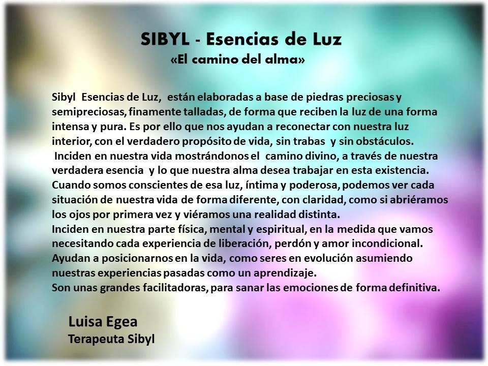Sibyl Esencias de Luz