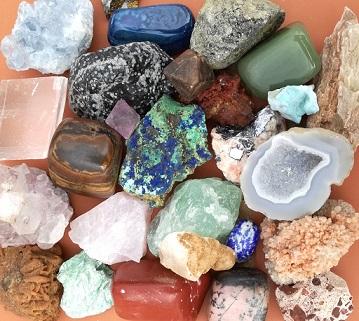 Cómo limpiar los minerales